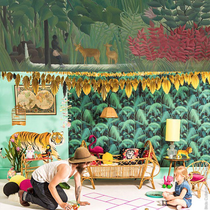 déco tropicale / décoration jungle