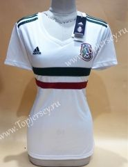b08000cdb83 2018 World Cup Mexico Away White Thailand Female Soccer Jersey AAA ...