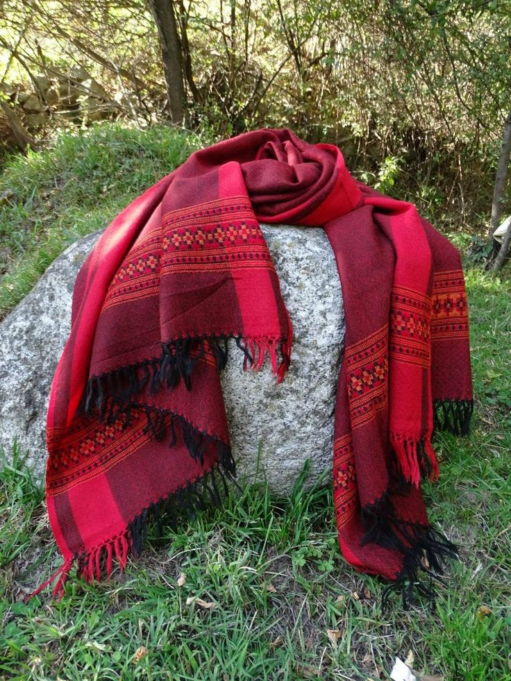 Wool scarf, blanket scarf. Excited to share the latest addition to my #etsy shop: Oversized cherry red soft wool unisex scarf/ shawl http://etsy.me/2ysNZ0d