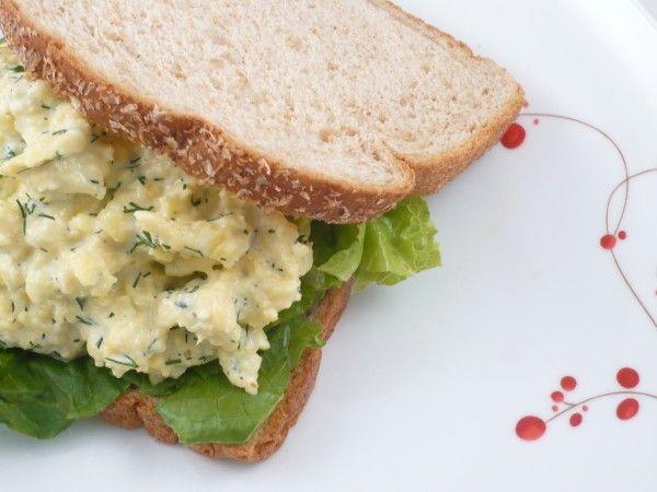 Low Cal Egg Salad 3 large hard-boiled egg whites (yolks discarded) 1 ...