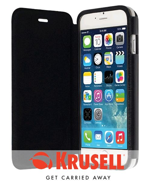 Krusell Donsö Flip Case Apple iPhone 6 Zwart