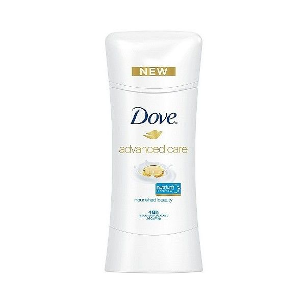 Dove Advanced Care Nourished Beauty Anti-Perspirant Deodorant . oz ($4.89) ❤ liked on Polyvore featuring beauty products, bath & body products, deodorant, anti perspirant deodorant, anti perspirant and deodorant, antiperspirant deodorant, antiperspirant and deodorant and dove deodorant