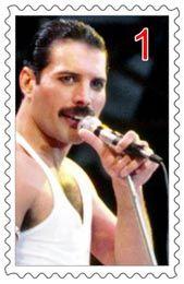 Freddie Mercury verzamelde postzegels