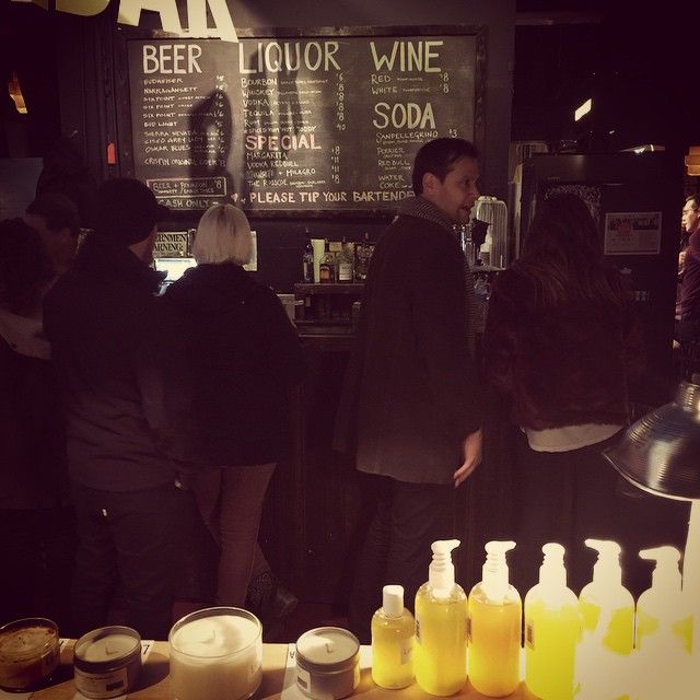 www.brooklynlimegreen.com  Selling candles at @bkbazaar tonight. It's cold but folks are getting their shopping on. #bkbazaar #brooklynlimegreen