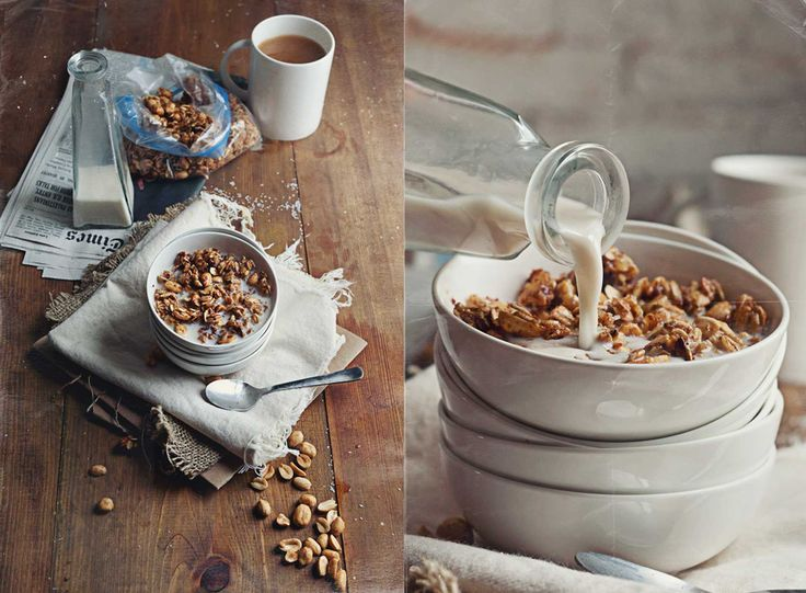 food photography cereal - Google Search