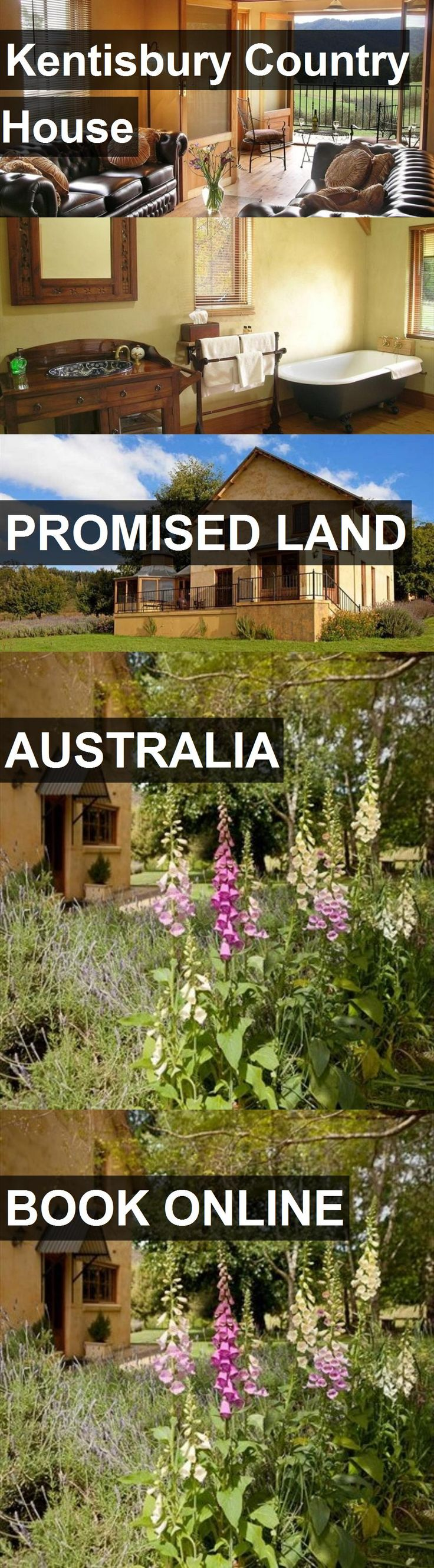 Hotel Kentisbury Country House in Promised Land, Australia. For more information, photos, reviews and best prices please follow the link. #Australia #PromisedLand #travel #vacation #hotel