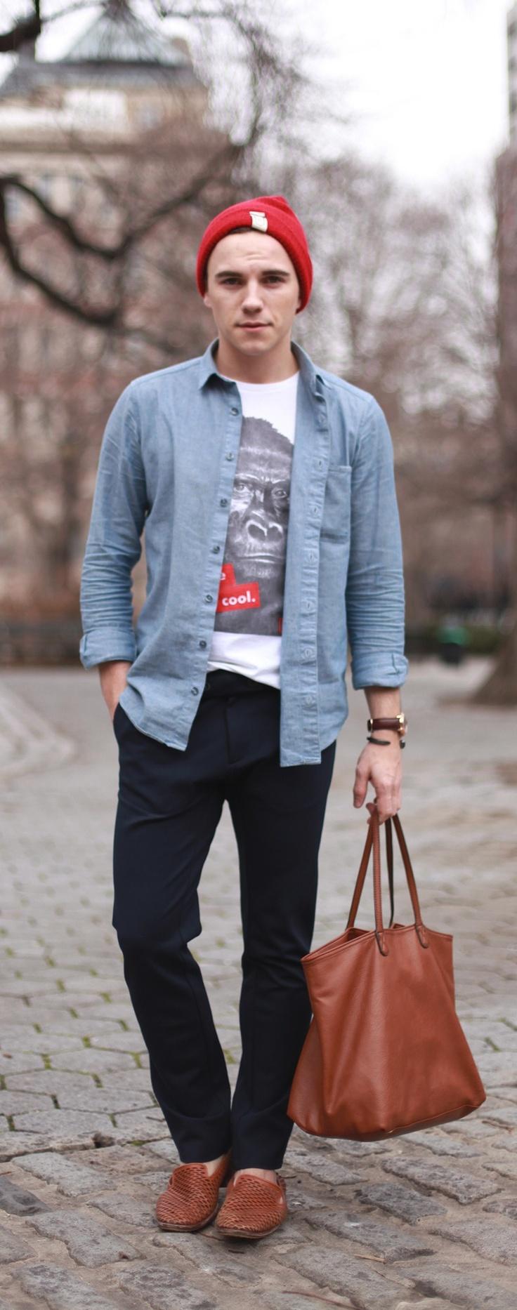 Street Style: Justin Livingston