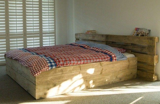 Livengo - Steigerhout bed Pallet