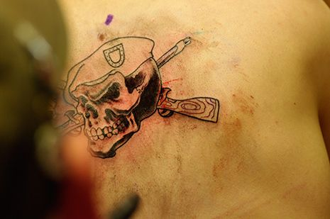 US Army Tattoo policy!