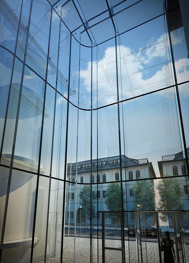 Structural Glass Atrium Glasscon Gmbh Architectural Building