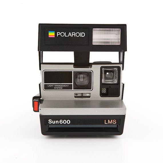 Polaroid Sun 600 LMS Instant Camera! Great Shape
