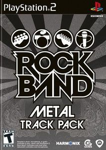 Rock Band Metal Track Pack - PS2 Game