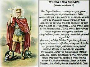 Oración a San Expedito pidiendo Protección Familiar. Mi San Expedito de las Causas Justas y Urgentes. Socórreme en esta hora de aflicción y desespero...
