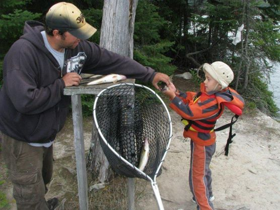 Father and Son bonding #algomacountry