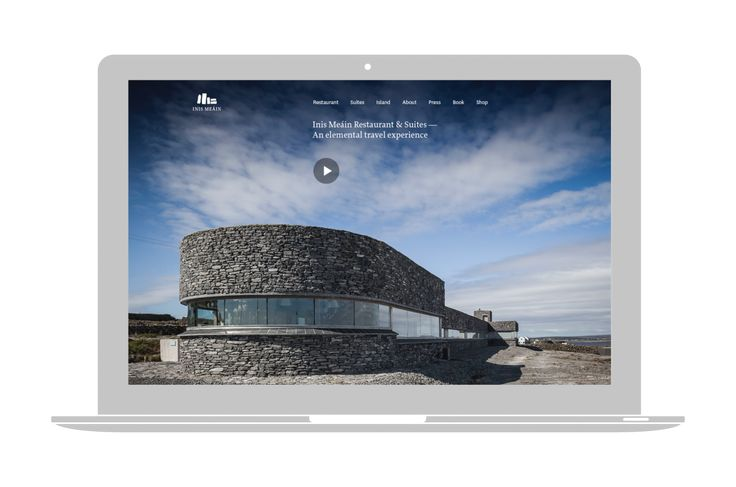 Inis Méain Restaurant & Suites Website (2013) - 100 Archive