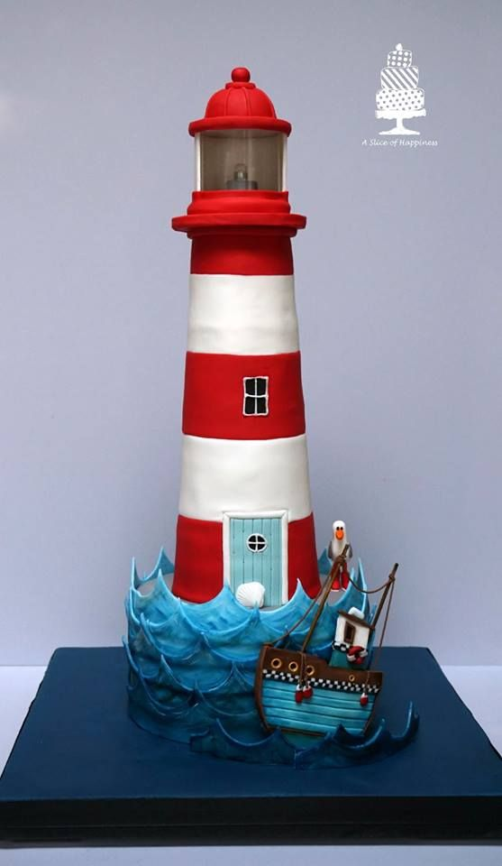 Top 148 Ideas About Cakes Lighthouses On Pinterest