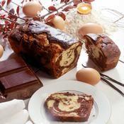 Gâteau marbré - une recette Gâteau - Cuisine