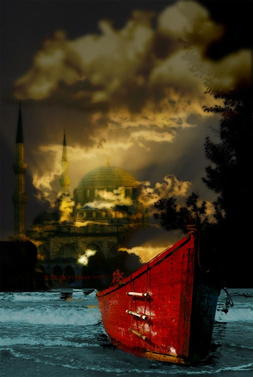 #Istanbul in the evening...