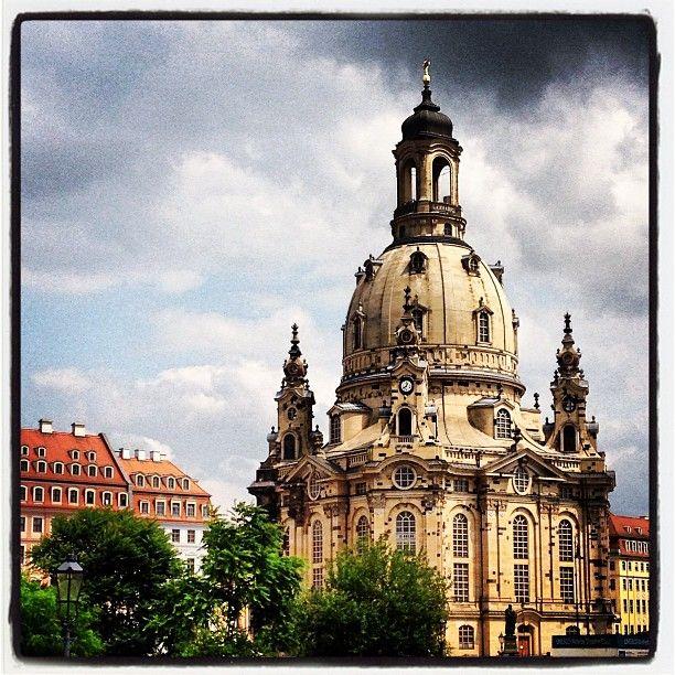 Dresden Frauenkirche - Dresden, Germany