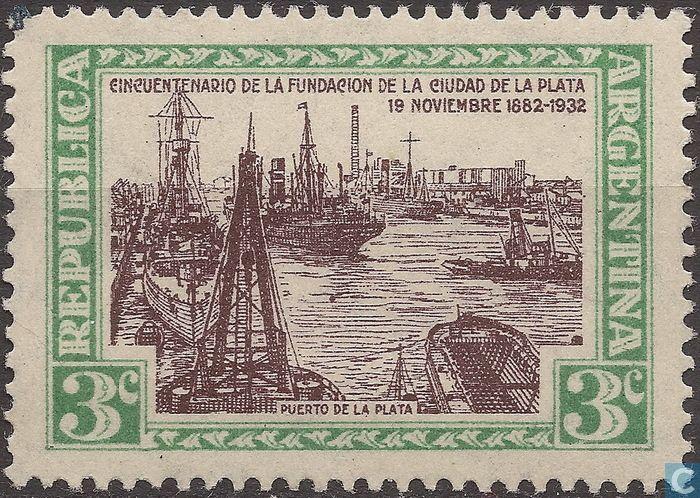 Argentina [ARG] - Port La Plata 1933