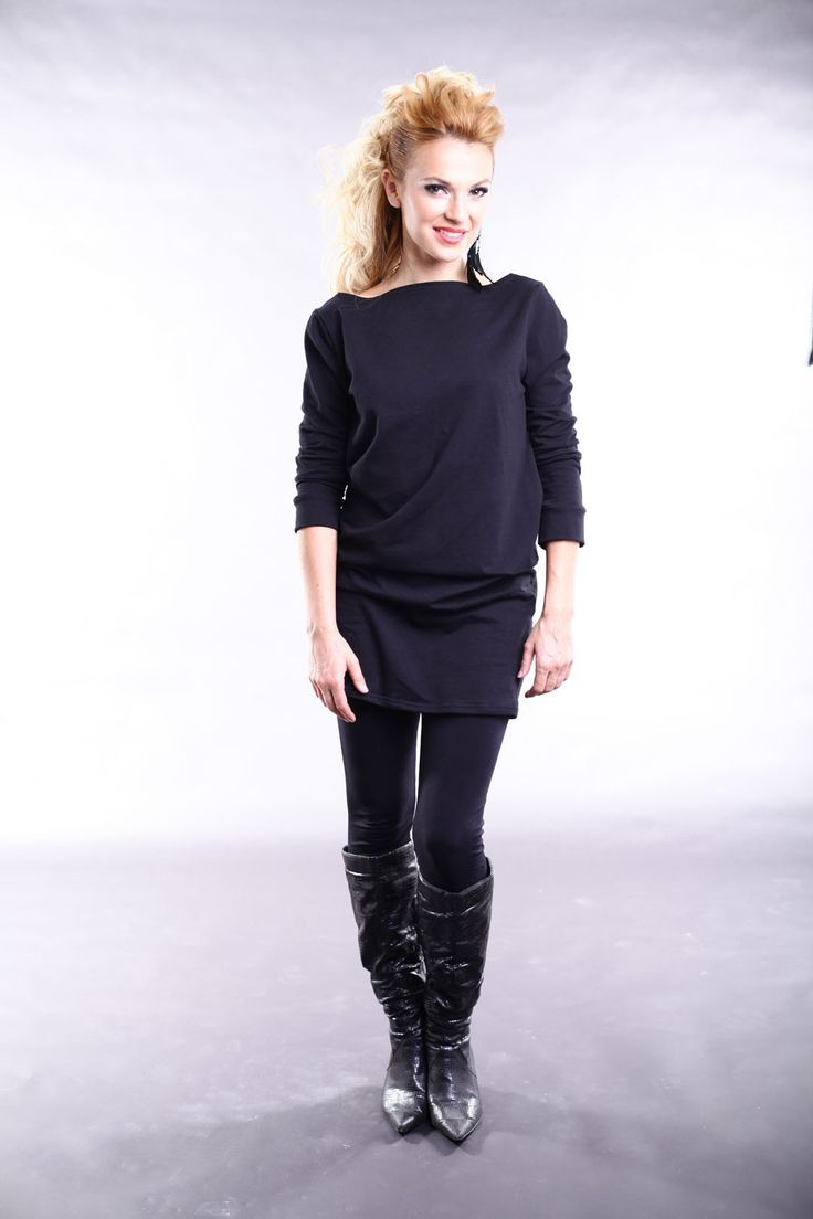 EMILIA TOP - BLACK by Judy Design