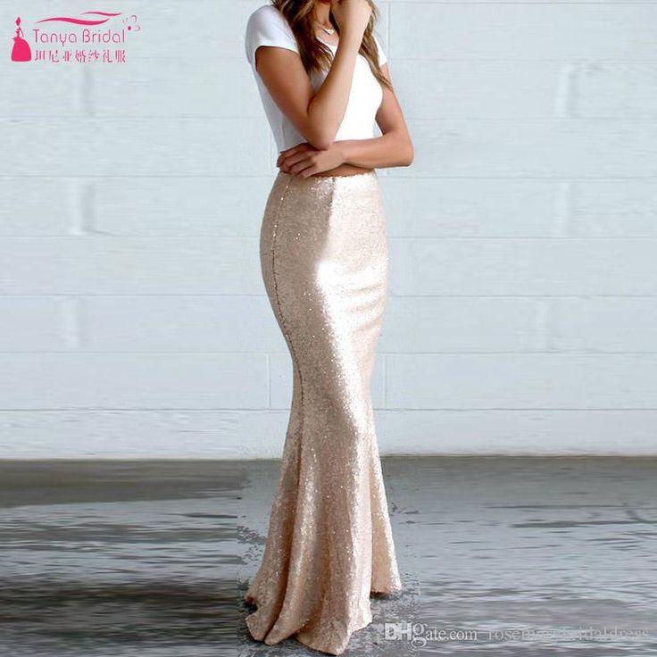 Rose Gold Mermaid Skirts Floor Length Prom Skirt Dresses Elegant Women Casual Wear Party Skirts Cheap Black Prom Dresses Uk Camouflage Prom Dresses From Rosemarybridaldress, $59.3| Dhgate.Com