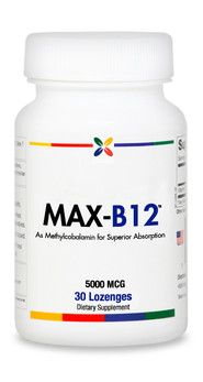 MAX-B12 -B12′s most vital function of all may be protecting your brain and entire nervous system. It does this by keeping your nerves communicating in an optimal manner.[13,14]