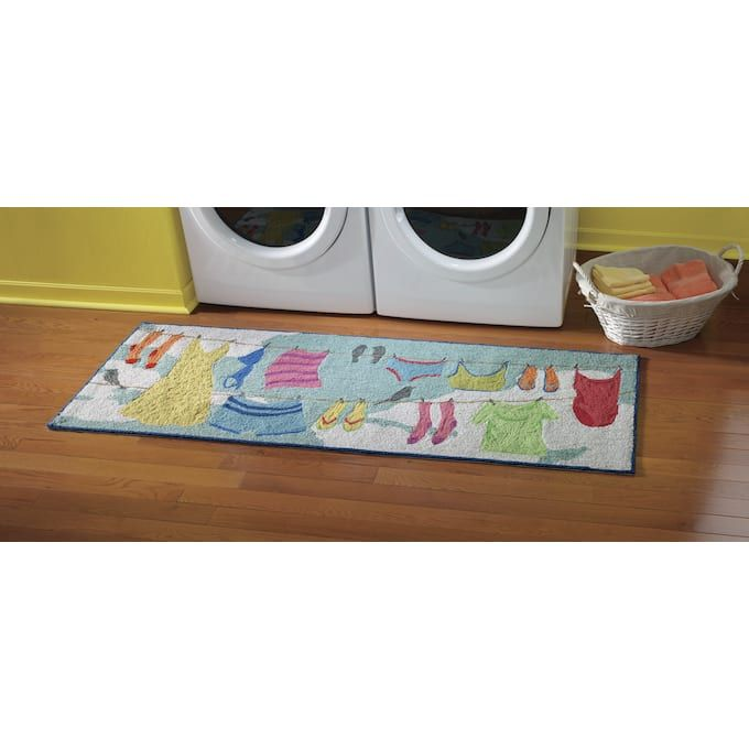 Handmade And Adorable You Won T Find These Whimsical Rugs Just Anywhere Ideal For Your Laundry Room Or Out Large Outdoor Rugs Outdoor Rugs Indoor Outdoor Rugs