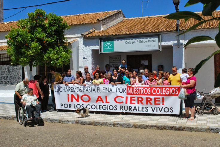 HORNACHUELOS: NUEVA PROTESTA DE BEMBÉZAR CONTRA EL CIERRE DE SU ...