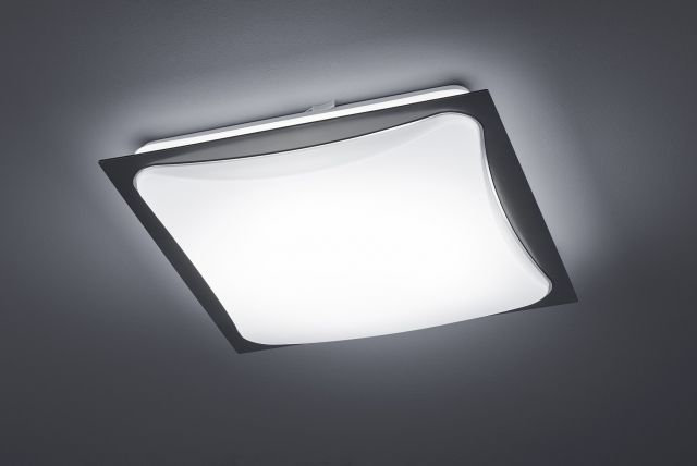CORNET Trio - LED svietidlo na strop - 405mm- antracit.akryl