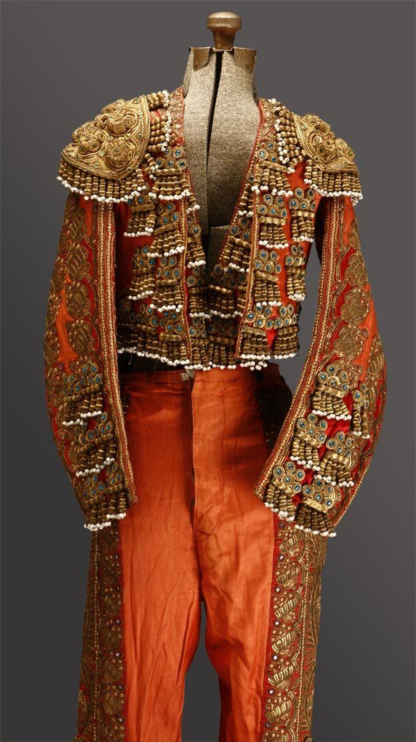 vintage Spanish matador toreador costume