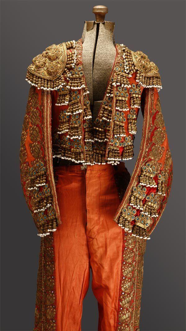 vintage Spanish matador toreador costume