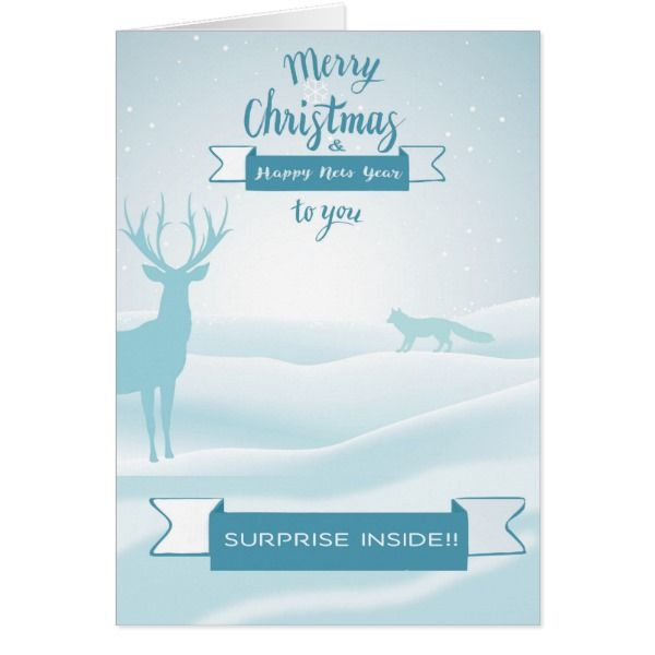 Merry Christmas Musical greeting Card #cards #christmascard #holiday