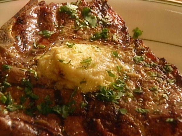 Grilled Porterhouse Steaks Recipe : Food Network