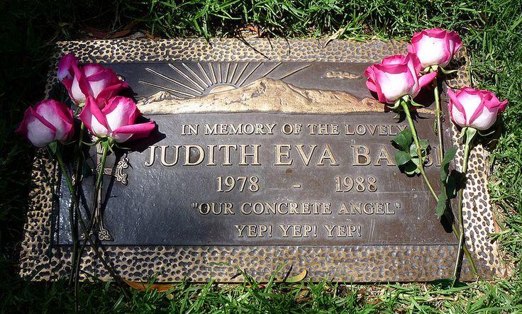 Judith Barsi Headstone Grave - Judith Barsi - Wikipedia