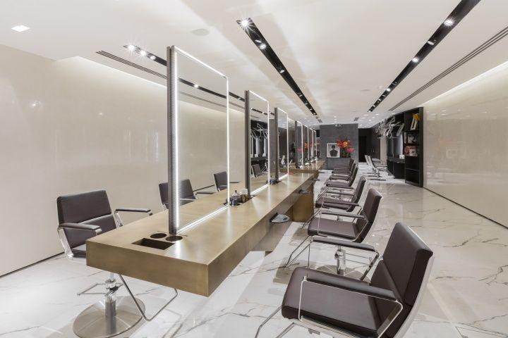 87 best salon interior images on pinterest hair salons for Interior stylist london