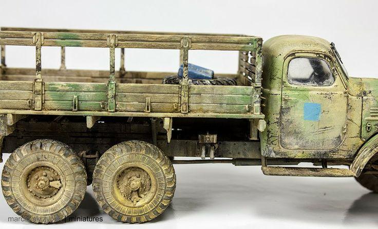 Egyptian Zil-157 1/35 Scale Model Truck