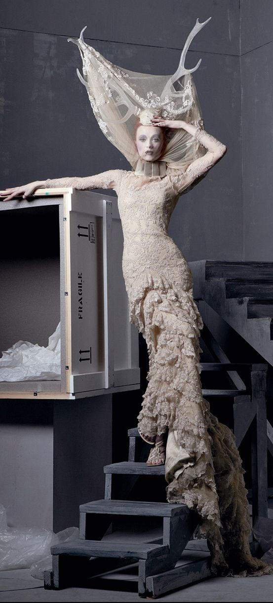 Alexander the Great - photographed by Steven Meisel :: Tribute to the Late Alexander McQueen