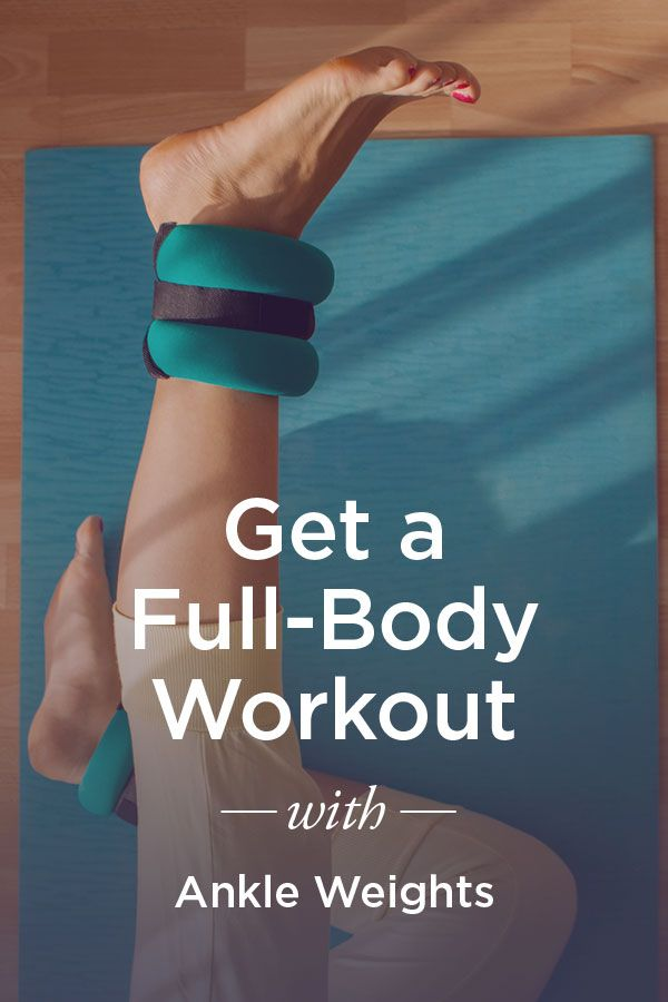 How to Get a Full-Body Workout Using Ankle Weights