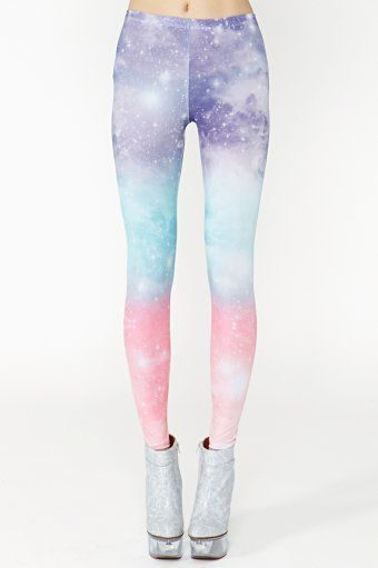 Amazingly beautiful leggings that will make you look prettier than an Unicorn.