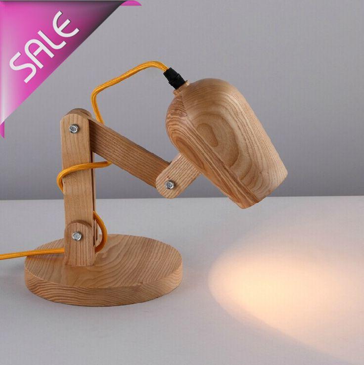 Купить товарЛофт американский старинные деревянные тень ручной дерево из светодиодов ночного настольная лампа деревянный стол освещение современные лампы стол свет декор 110   240 В в категории Настольные лампына AliExpress.                              Добро пожаловать в наш оптовый магазин                                        Завод п