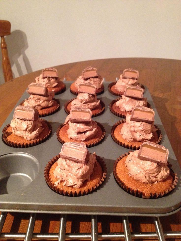 Mars bar cupcakes