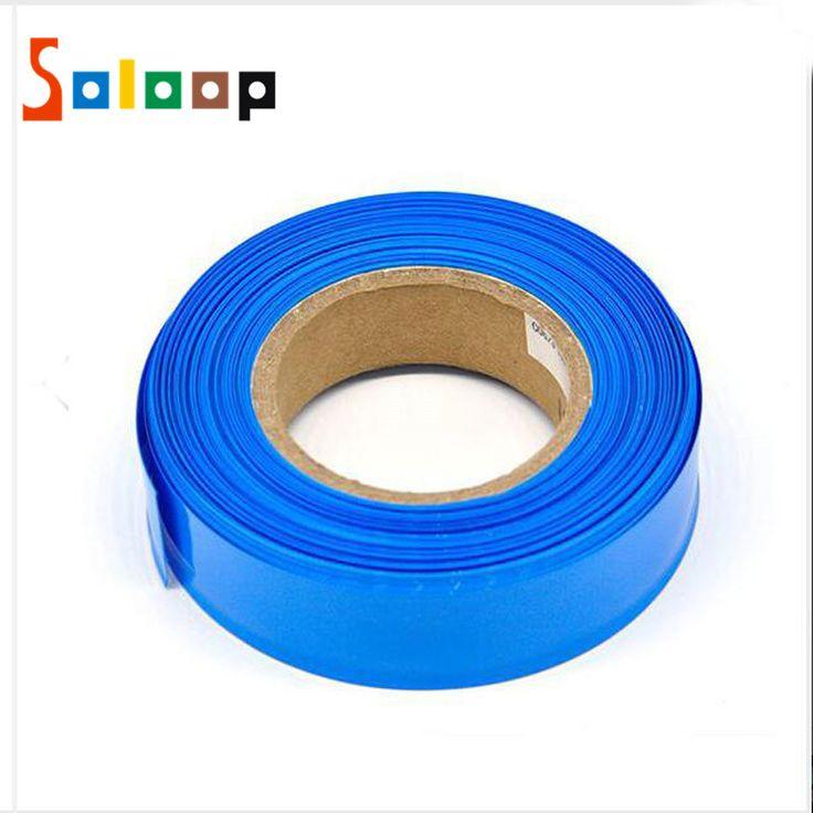 Panas Menyusut Tubing 1 M Model Aksesoris Casing PVC Panas Menyusut Tabung Baterai Lipo Baterai Kasus Elektronik Isolasi