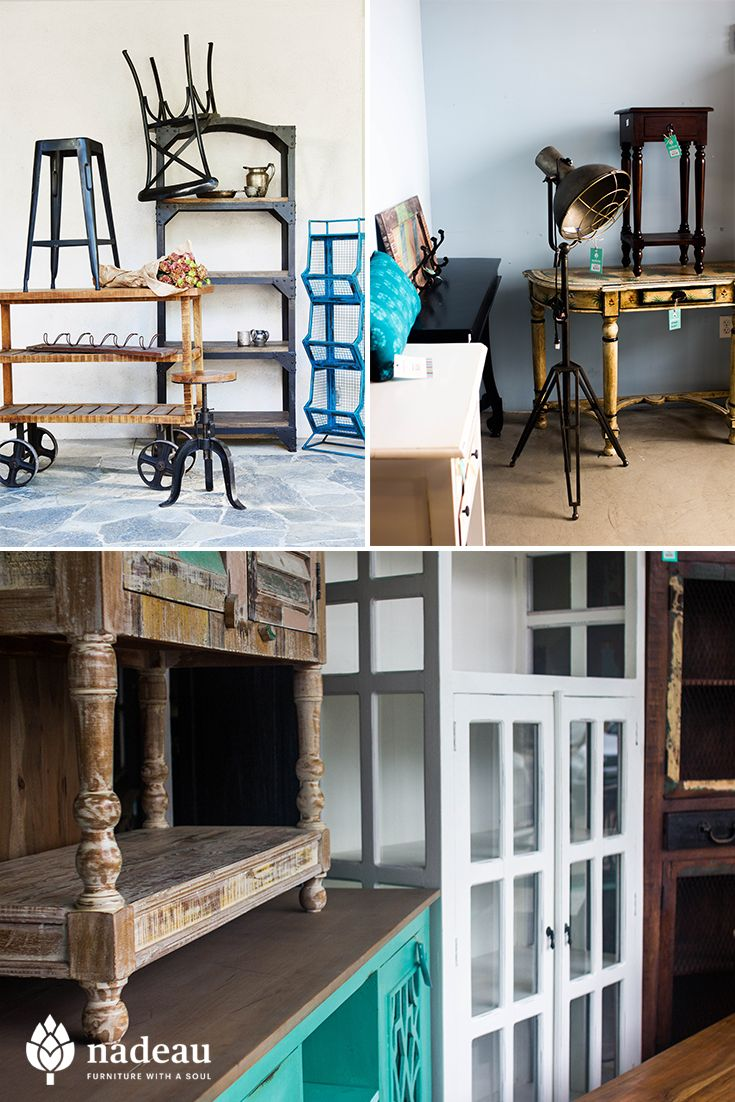 Industrial Style From Nadeau. Quality Furniture At Affordable Prices.