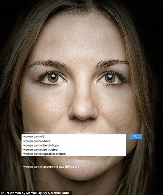 The adverts expose the negative attitudes ranging from stereotyping as well as a denial of women's rights