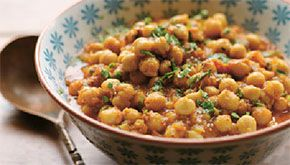 Cinnamon-spice chickpea curry