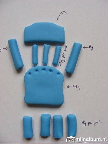 fondant chair tutorial