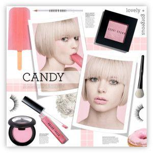 розовый сахар макияж