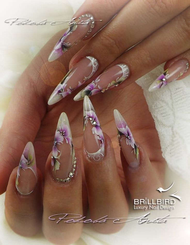 191 best nail art images on Pinterest | Nail art, Stiletto nails and ...