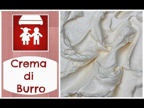 Crema di burro al cioccolato (Nutella) ricetta by ItalianCakes - YouTube